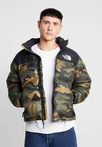 The North Face - 1996 RETRO NUPTSE JACKET UNISEX - Piumino - burnt olive - 0