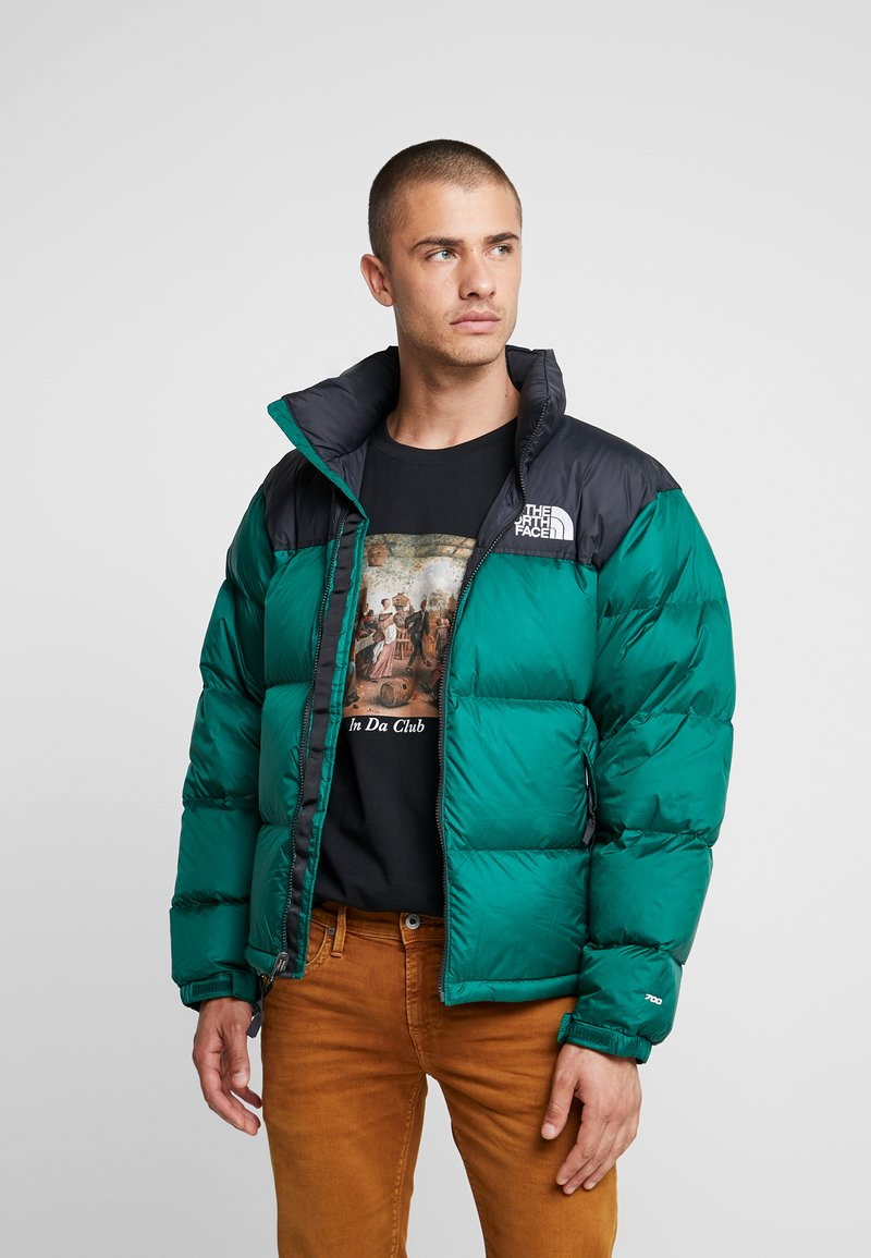 The North Face - RETRO NUPTSE JACKET - Daunenjacke - night green