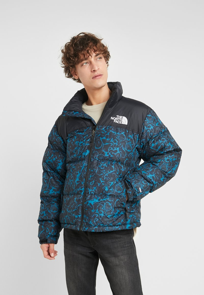 The North Face - RETRO NUPTSE JACKET - Piumino - blue coral