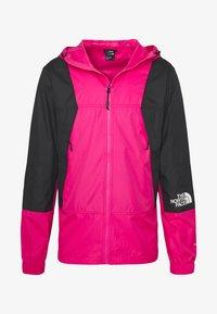 The North Face - MOUNTAIN LIGHT WINDSHELL JACKET - Wiatrówka - pink - 4