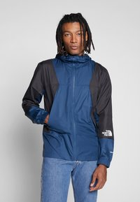 The North Face - MOUNTAIN LIGHT WINDSHELL JACKET - Wiatrówka - blue wing teal - 0