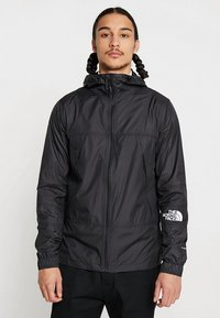 The North Face - MOUNTAIN LIGHT WINDSHELL JACKET - Wiatrówka - black - 3
