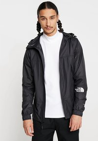 The North Face - MOUNTAIN LIGHT WINDSHELL JACKET - Wiatrówka - black - 0