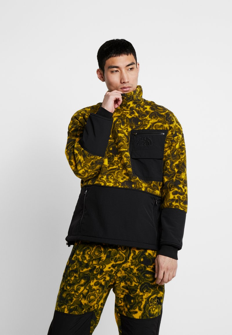 The North Face - RAGE CLASSIC  - Sweat polaire - leopard yellow