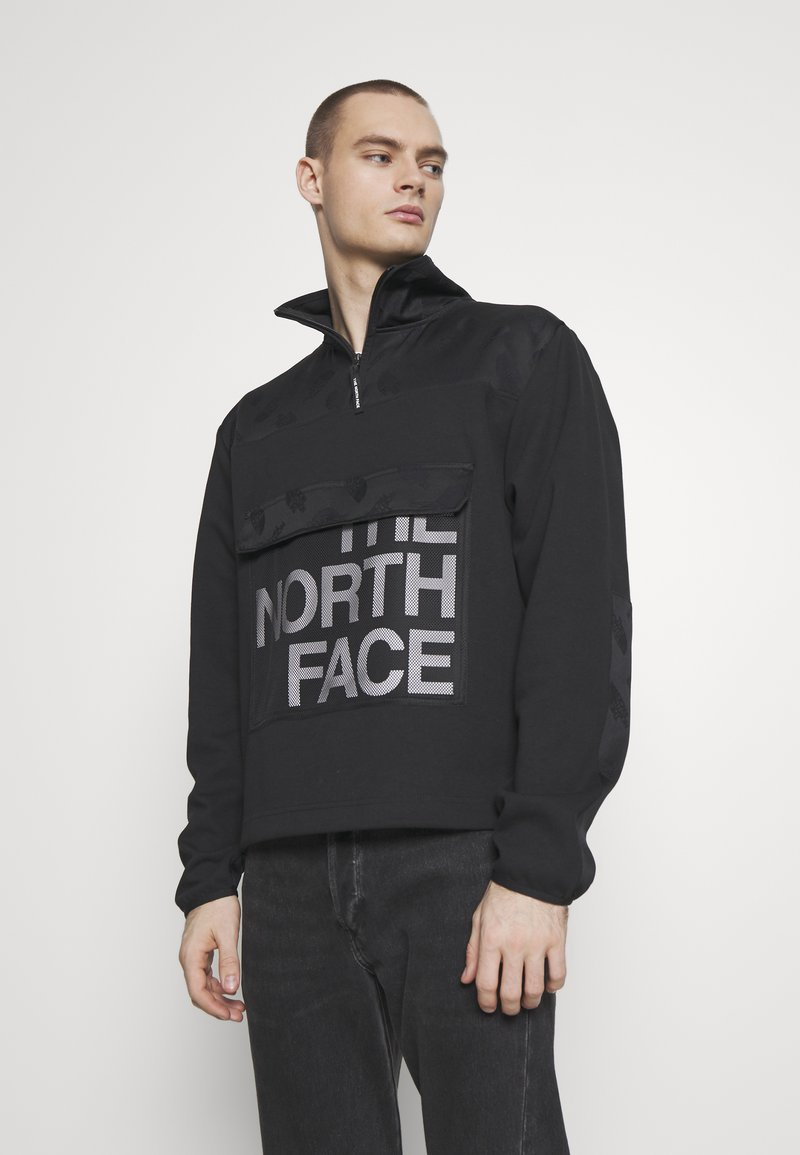 The North Face - GRAPHIC COLLECTION ZIP - Sweatshirt - black