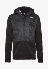 The North Face - TRAIN N LOGO OVERLAY JACKET - Leichte Jacke - black / asphalt grey - 3