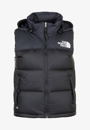 RETRO NUPTSE - Vest - black