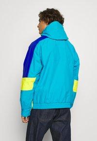 The North Face - EXTREME RAIN JACKET - Summer jacket - meridian blue combo - 2