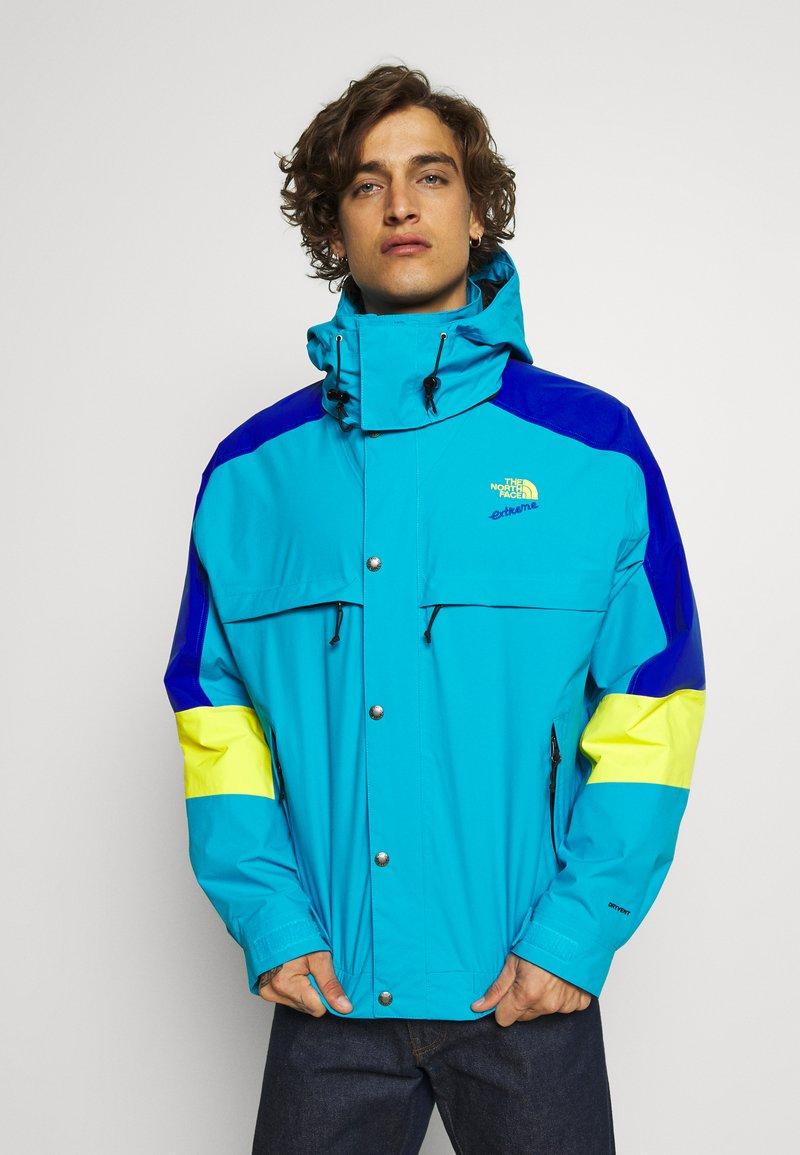 The North Face - EXTREME RAIN JACKET - Summer jacket - meridian blue combo