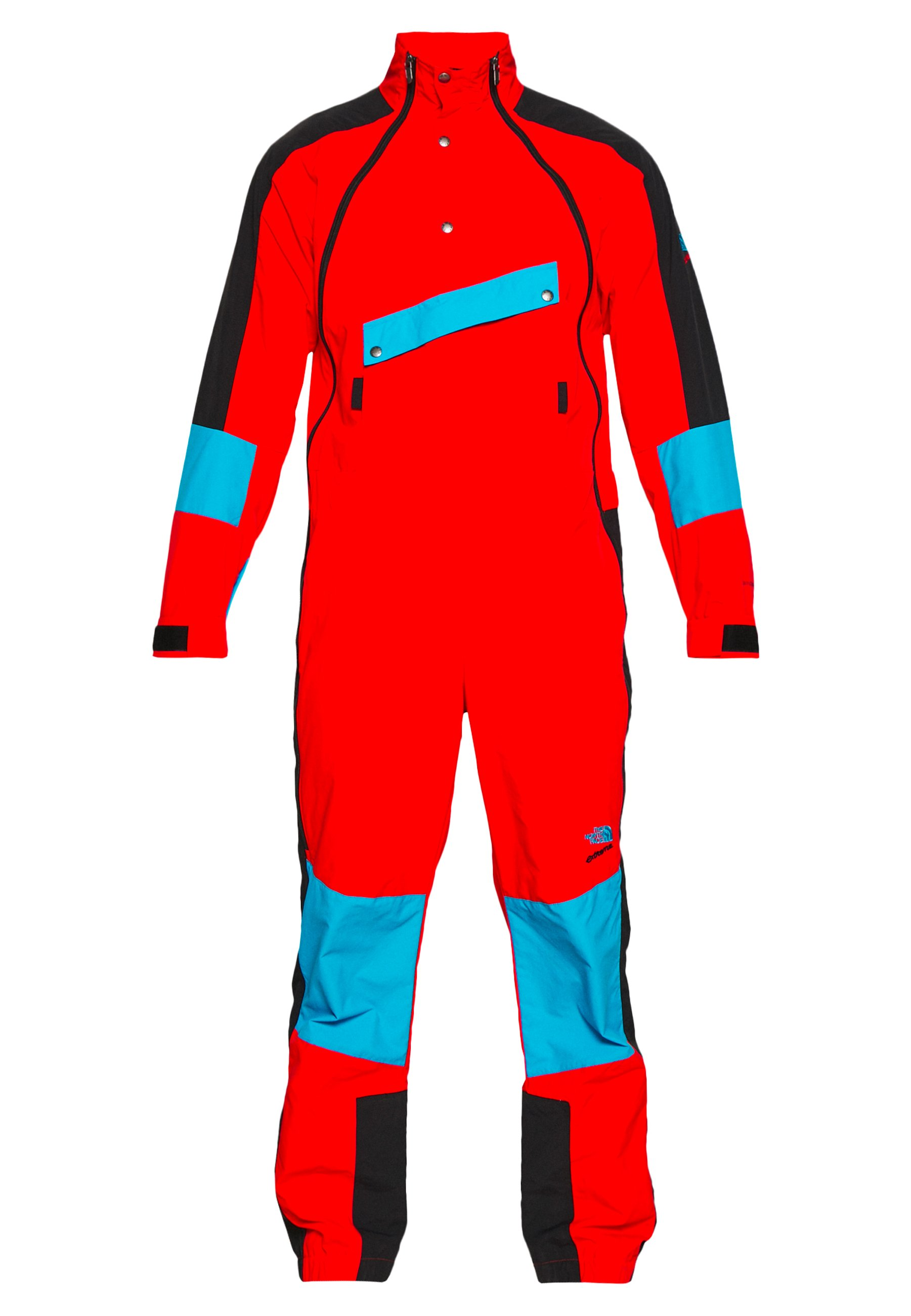 The North Face EXTREME WIND SUIT - Veste coupe-vent - fiery red combo