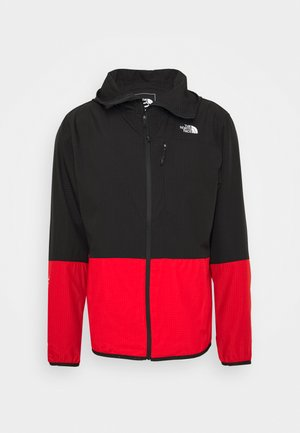Lehká bunda - fiery red/black