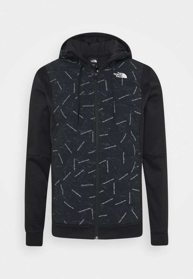 TRAIN LOGO HYBRID INSULATED JACKET - Jas - black