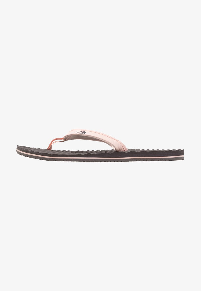 The North Face - BASE CAMP MINI - Sandalias de dedo - rabbit grey/pink