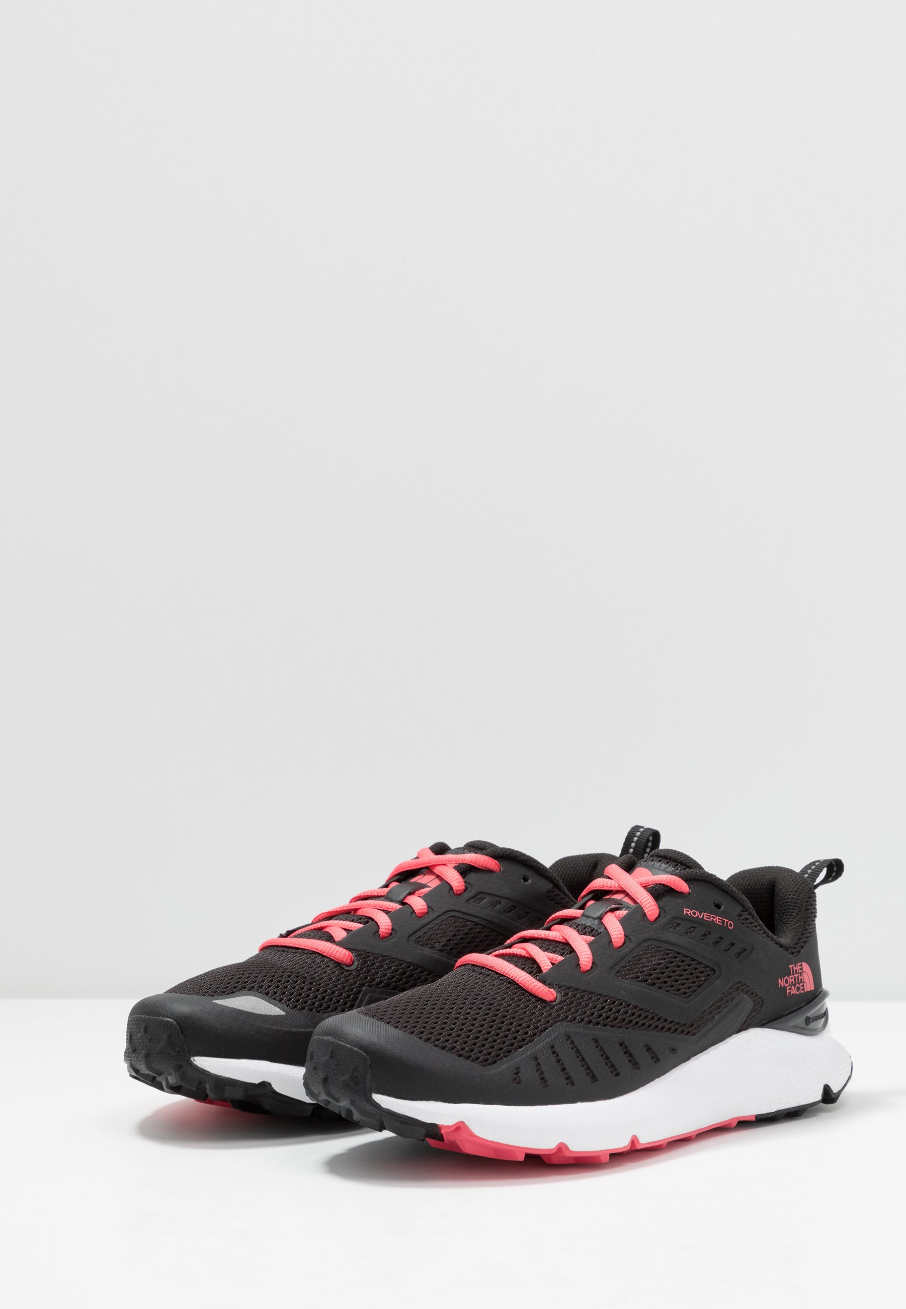The North Face Rovereto - Chaussures De Running Black/calypso Coral 3ageXgj