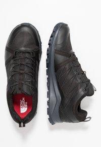 The North Face - LITEWAVE FP II GTX - Hiking shoes - black/ebony - 1