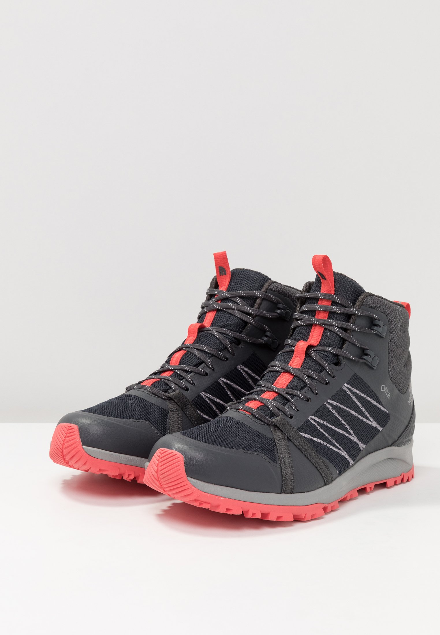 The Grey Mid Ebony GtxChaussures fiesta Red North Face Marche De u1JlF3TcK