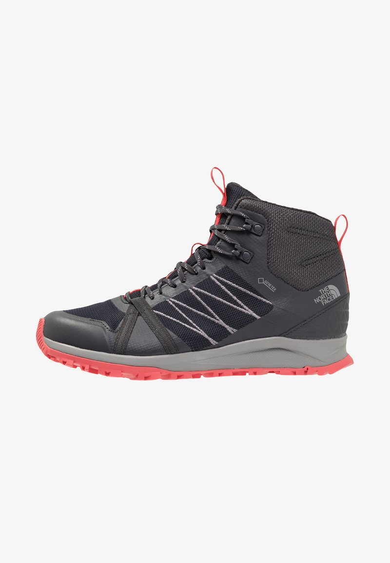 The North Face - MID GTX - Scarpa da hiking - ebony grey/fiesta red