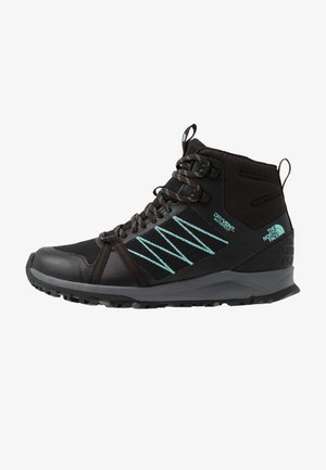Hiking shoes - black/aqua splash