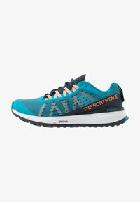 The North Face - WOMEN'S ULTRA SWIFT - Obuwie do biegania treningowe - caribbean sea/urban navy - 0