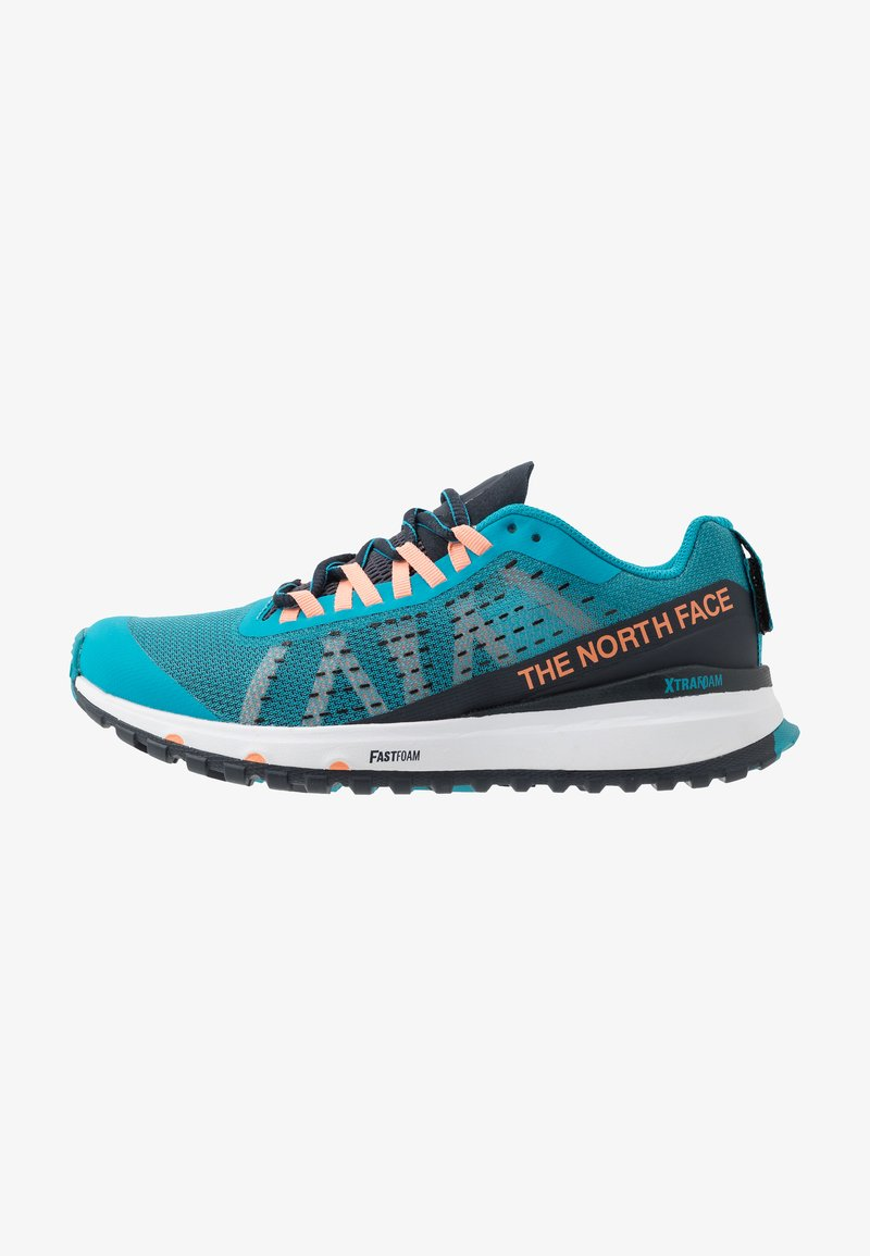 The North Face - WOMEN'S ULTRA SWIFT - Obuwie do biegania treningowe - caribbean sea/urban navy