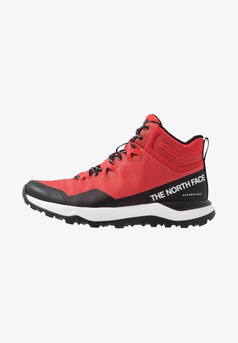 The North Face - WOMEN'S ACTIVIST MID FUTURELIGHT - Outdoorschoenen - cayenne red/black