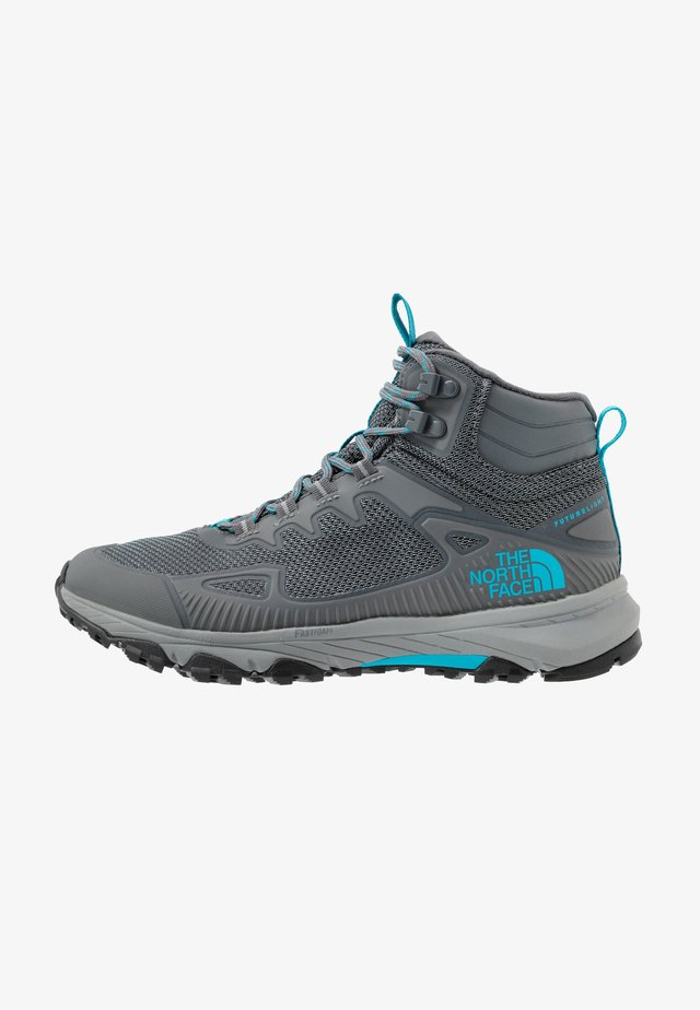 WOMEN'S ULTRA FASTPACK IV MID FUTURELIGHT - Obuwie hikingowe - zinc grey/caribbean sea