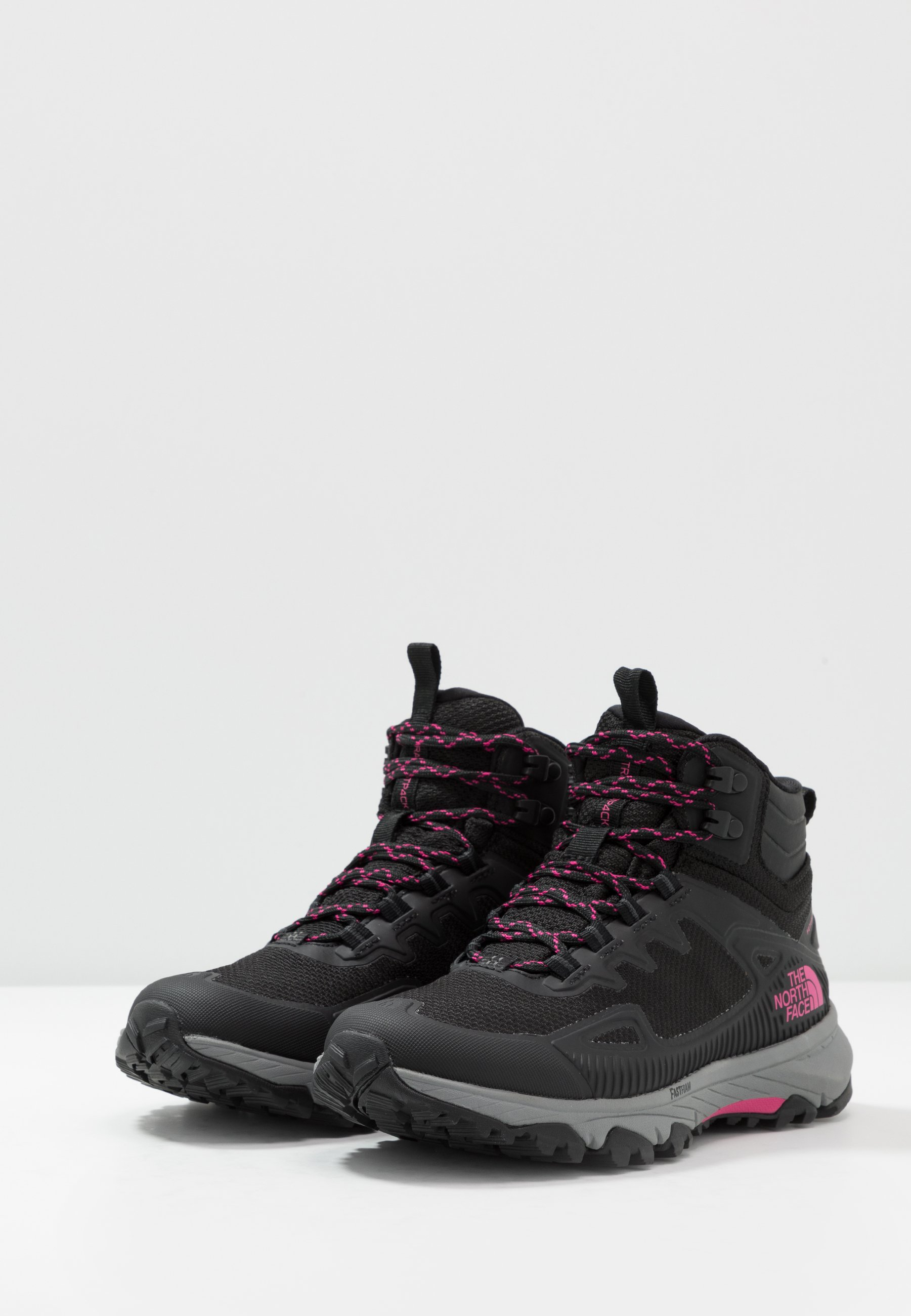 The North Face WOMEN'S ULTRA FASTPACK IV MID FUTURELIGHT - Hikingsko - black/mr. pink