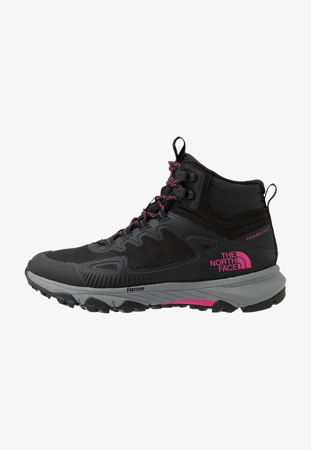WOMEN'S ULTRA FASTPACK IV MID FUTURELIGHT - Zapatillas de senderismo - black/mr. pink