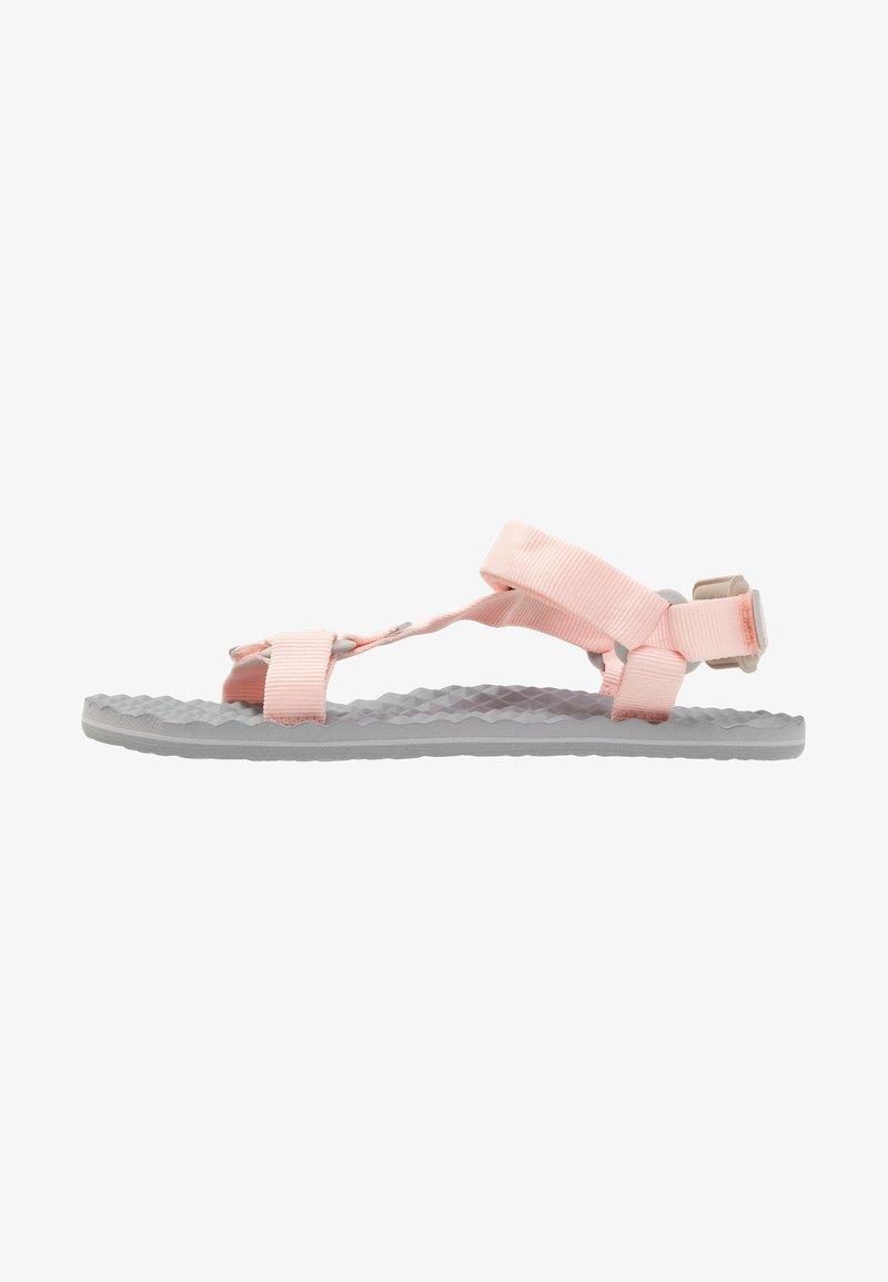 The North Face - BASECAMP SWITCHBACK   - Walking sandals - pink salt/meld grey