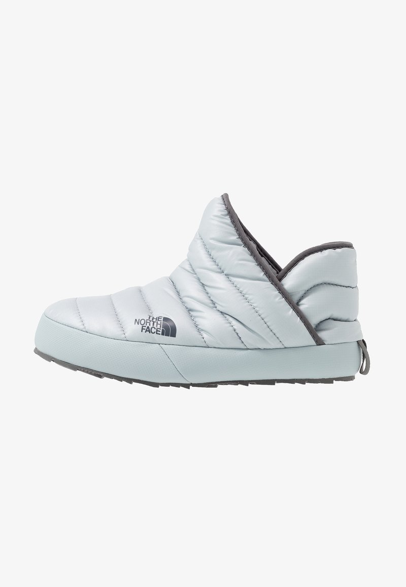 The North Face - TRACTION BOOTIE SHINY FROST - Bottes de neige - high rise grey/zinc grey