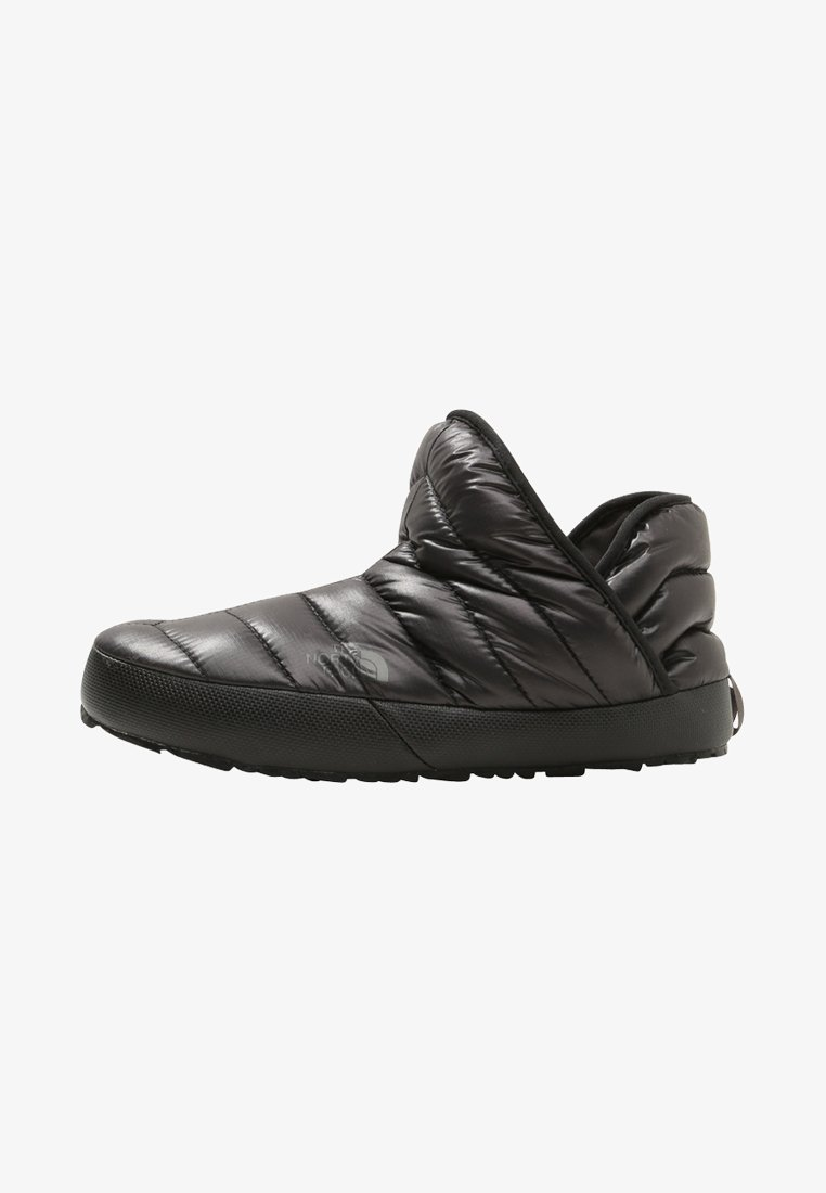 The North Face - TRACTION BOOTIE SHINY FROST - Winter boots - shiny black