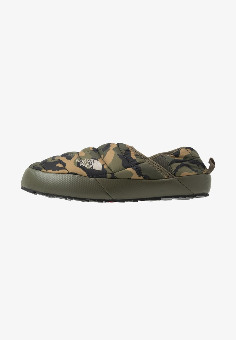 The North Face - THERMOBALL TRACTION MULE V - Vaellussandaalit - new taupe green/burnt olive green