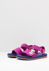 The North Face - WOMEN'S SKEENA - Walking sandals - wild aster purple/bright navy - 2