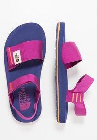 The North Face - WOMEN'S SKEENA - Walking sandals - wild aster purple/bright navy - 1