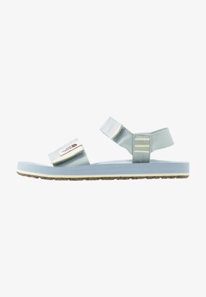 WOMEN'S SKEENA - Walking sandals - celestial blue/tender yellow