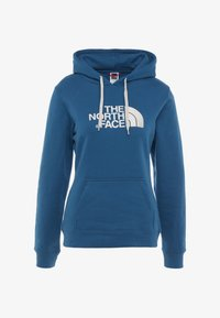 The North Face - WOMEN'S DREW PEAK PULLOVER HOODIE - Hoodie - blue coral/vintage white - 3