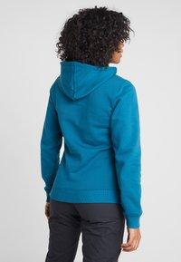 The North Face - WOMEN'S DREW PEAK PULLOVER HOODIE - Hoodie - blue coral/vintage white - 2
