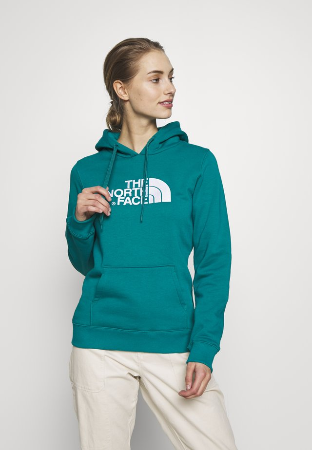 WOMEN'S DREW PEAK PULLOVER HOODIE - Bluza z kapturem - fanfare green
