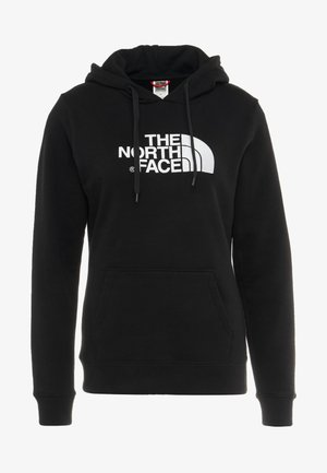 WOMENS DREW PEAK HOODIE - Bluza z kapturem - black/white
