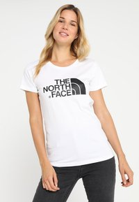 The North Face - WOMENS EASY TEE - Print T-shirt - white - 0