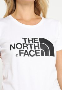The North Face - WOMENS EASY TEE - Print T-shirt - white - 3