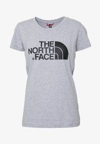 The North Face - WOMENS EASY TEE - T-shirt z nadrukiem - light grey - 4