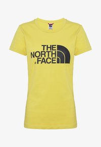 The North Face - WOMENS EASY TEE - T-shirt print - bamboo yellow - 3
