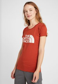 The North Face - WOMENS EASY TEE - T-Shirt print - picante red - 0