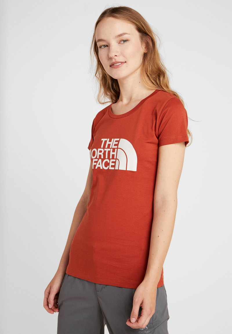 The North Face - WOMENS EASY TEE - T-Shirt print - picante red