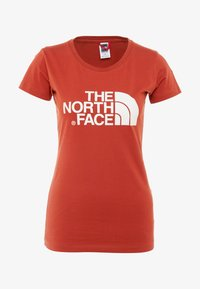 The North Face - WOMENS EASY TEE - T-Shirt print - picante red - 4