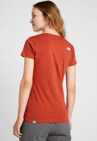 The North Face - WOMENS EASY TEE - T-Shirt print - picante red - 2