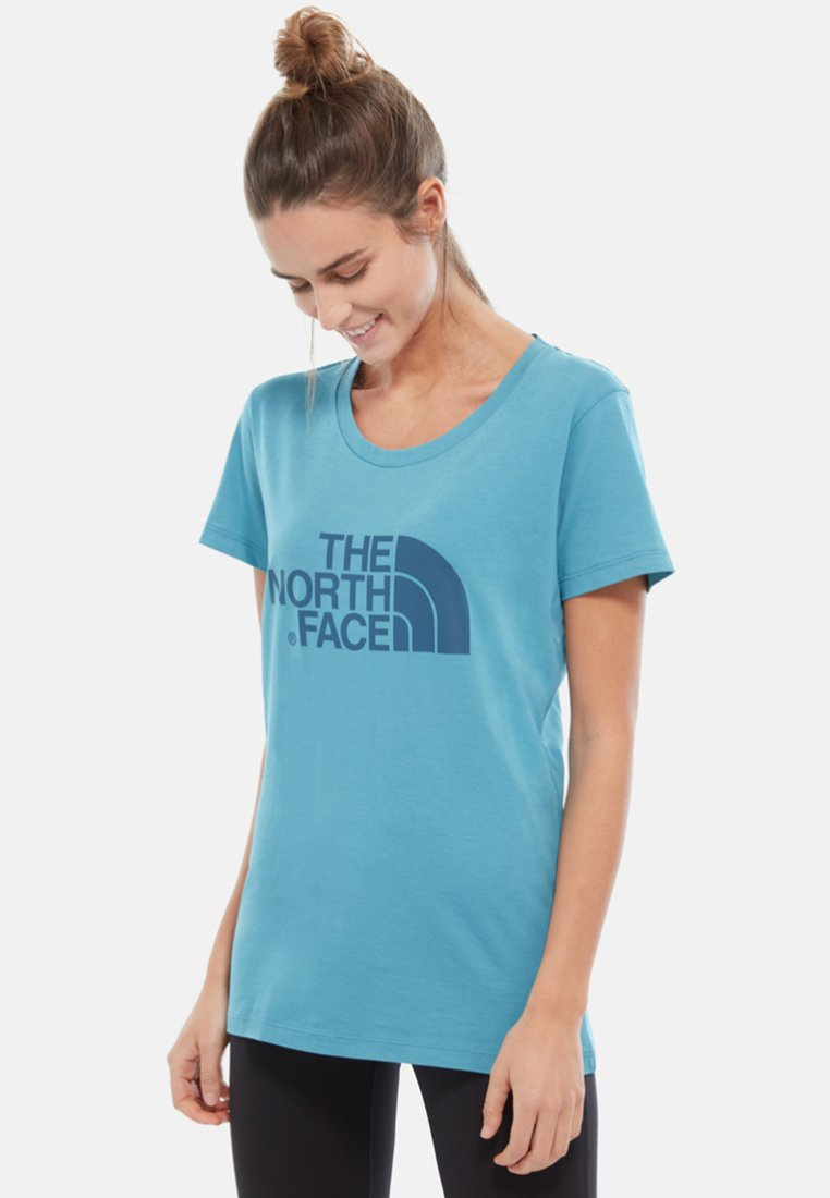 The North Face - EASY TEE - T-Shirt print - light blue