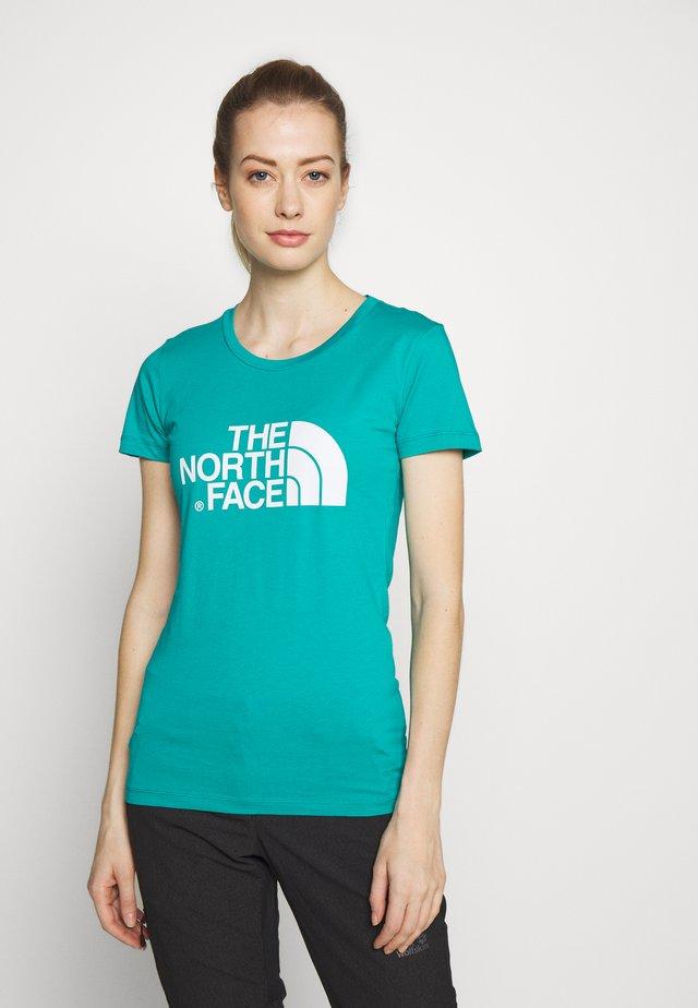 WOMENS EASY TEE - Camiseta estampada - jaiden green