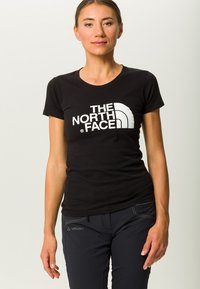 The North Face - EASY TEE - Printtipaita - black - 0